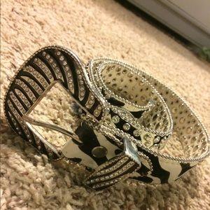 Other - Youth zebra western belt